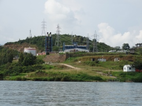 Close up of the Kivu-Watt Power Plant